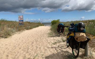 Mit dem Fahrrad auf Usedom